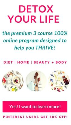 Detox your life - The life changing program designed to take YOU from miserable and toxic to THRIVING! Healthy Soup Recipes, Healthy Meals For Kids, Bar Recipes, Eating Healthy, Salad Recipes, Dinner Recipes, Natural Body Detox, Oils For Sinus, Home Detox