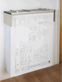 Blueprint Storage Drop Lift Wall Rack, DLWC by Brookside Design   BizChair.com
