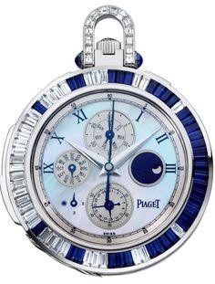 17db69bafd4 Os relógios de bolso femininos da Piaget