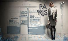 Louis Vuitton Window Display Design, Window Displays, Store Displays, Louis Vuitton Collection, Visual Merchandising Displays, Buy Louis Vuitton, Fashion Advertising, Budget Fashion, Windows