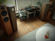 Tested set ready: amplifier Egg-Shell Classic 9WLT with speakers Bodnar Audio