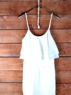 Eunishop Mini Strap Dress