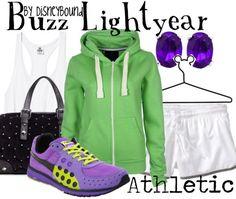 DisneyBound Buzz Lightyear, running style!