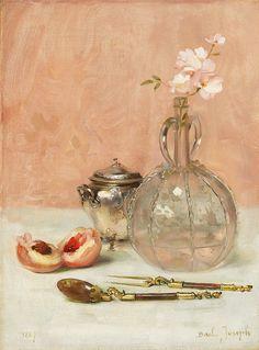 Claude Joseph Bail - Still Life by Irina  Claude Joseph Bail. French painter born 1862- died 1921. Also known as: Joseph Bail, Joseph Bail. Nationality: French
