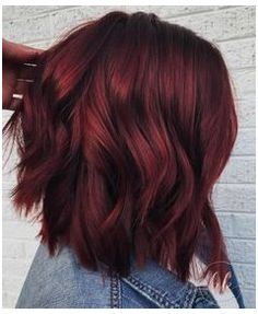Ombre Hair Color, Hair Color Balayage, Hair Colors, Wine Red Hair Color, Hair Highlights, Burgendy Hair Color, Brownish Red Hair, Red Wine, Bob Hair Color