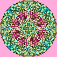 Hidden Heart Mandala