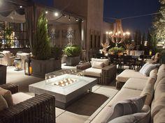 Great rooftop garden/patio.