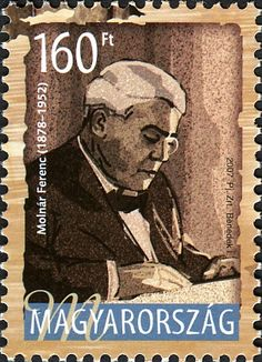 Literary Stamps: Molnar, Ferenc (1878 - 1952) Stamp Collecting, Hungary, Stamps, Portrait, World, Collection, Seals, The World, Artists