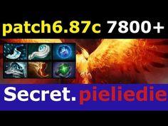 how to play phoenix dota 2 Secret.pieliedie 7800 MMR patch 6.87c