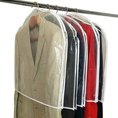 #High quality shoulder cover for coats, etc. Cost effective way of #protecting garments from dust & dirt.