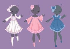 Simple outfit adopts 3 [OPEN] by MantaTheMisukitty.deviantart.com on @DeviantArt
