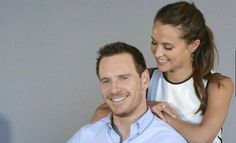 Michael Fassbender and Alicia Vikander for Entertainment Weekly