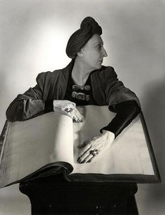 Dame Edith Sitwell by Horst P. Horst, c.1948