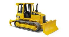 A tractor to handle the big jobs!   Made of high-quality plastics, this tractor features a front blade that can be angled to the left or right and raised up and down to move dirt or sand, plus an adjustable ripper in the rear that can be replaced with other tool accessories sold separately.  CATERPILLAR #Track #Tractor- #Toy