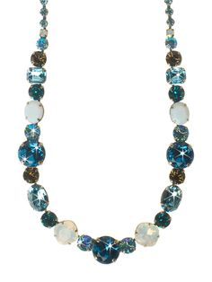 Superior Sparkle Classic Necklace in Emerald Coast by Sorrelli - $197.50 (http://www.sorrelli.com/products/NCP38ASECO)