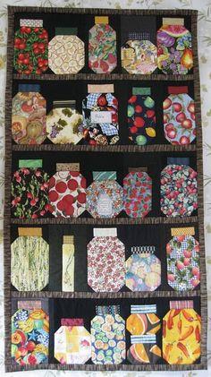 Nice selection of fabrics to keep it interesting.