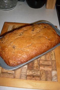 Cinnamon Prune Bread, a quick bread recipe. Zucchini Bread Recipes, Quick Bread Recipes, Baking Recipes, Dessert Recipes, Desserts, Baking Breads, Cake Recipes, Prune Bread Recipe, Prune Cake