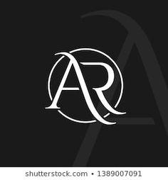 Bilder, Stockfotos und Vektorgrafiken Letter Ar Logo | Shutterstock Wedding Logo Design, Luxury Logo Design, Graphisches Design, Wedding Logos, Initials Logo, Monogram Logo, Apple Logo Wallpaper, A Letter Wallpaper, Restaurant Logo
