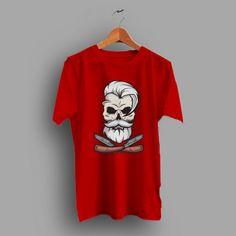 5b659e3105 Let Get Barbershop Skull Vintage T Shirt