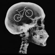 The brain of a #cyclist  I'm sure that lots of our #mtb guests think this way... even when they're asleep!