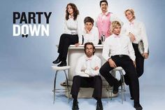 "CAST: Adam Scott, Ken Marino, Ryan Hansen, Martin Starr, Lizzy Caplan, Megan Mullally, Jane Lynch; Features: - 11"" x 17"" - Packaged with care - ships in sturdy reinforced packing material - Made in th"