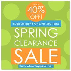 Shop our #SALE !!!