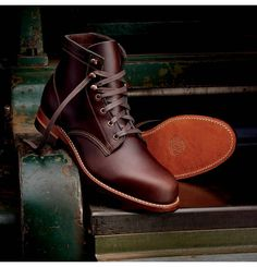 The Best Men's Shoes And Footwear : Wolverine Mens 1000 Mile Boot Me Too Shoes, Men's Shoes, Shoe Boots, Men Boots, Tecovas Boots, Wide Shoes, Shoes Men, Red Wing Boots, Brown Boots