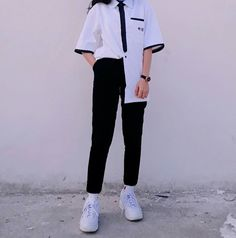 how to make clothes Edgy Outfits, Swag Outfits, Grunge Outfits, Cool Outfits, Fashion Outfits, Pop Fashion, Cute Fashion, Asian Fashion, Teen Fashion