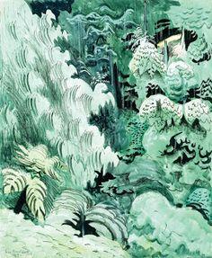 Charles Burchfield - Gorgeous colour.