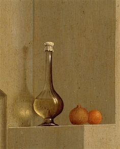 Rogier Van der Weyden  The Annunciation (detail, upper left corner)