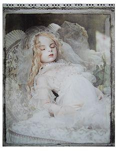 Doll / 夢の雫Ⅴ (1999) Ariel sculpt. Doll artist / Koitsukihime. Photograph / Hiroshi Nonami. / Sans Souci (2014)