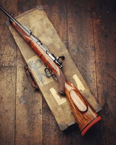Beautiful custom 98 bolt action rifle