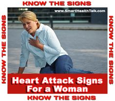 KNOW HEART ATTACK SIGNS. Memorize or bookmark link to have fast access in a crisis. Heart attacks are the #1 killer of men and women!  What you do leading up to, and during can determine life/death and more/less permanent damage. You don't want to think you should have taken the time as can happen anywhere, anytime, with someone that can help, or alone. Symptoms different for woman vs men. For long time NO research for women. Now we know.