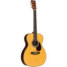 Martin Special Edition OMJM John Mayer Signature Orchestra Model Acoustic-Electric Guitar Natural