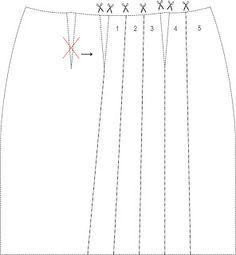 MIB - Modelagem Industrial Brasileira: Vestido Pregueado