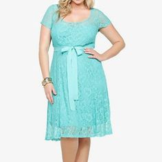 NWT torrid size 14 lace illusion skater dress NWT torrid size 14 lace illusion skater dress . Gorgeous color and fit with a sweetheart neckline , floral lace , back zip and ribbon belt included torrid Dresses