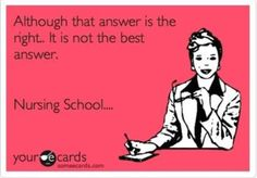 Nursing School. Student Nurse.