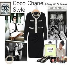New Autum Arrival with Coco Chanel Style Coco Chanel Fashion, Chanel Style, Chanel Jacket, Classy And Fabulous, Plus Fashion, Womens Fashion, Style Icons, Vintage Fashion, Clothes For Women
