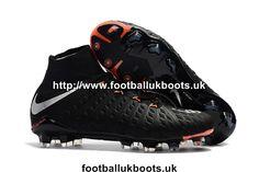 f7c90b2d5e8d Nike Hypervenom Phantom III 3 DF FG Football Boots - Black Metallic  Silver Black