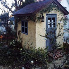 naonaoさんの、DIY小屋,ジャンク,DIY,ランタン,ガーデン,ガーデニング,植物,壁/天井,のお部屋写真