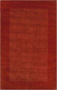 Surya Mystique M294 Red Rug   Contemporary Rugs