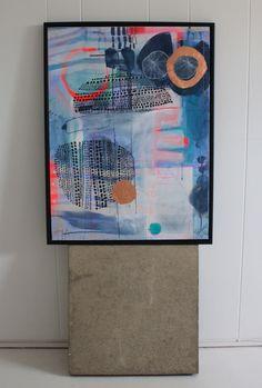 Akrylmaleri af Mette Lindberg. www.mettesmaleri.dk
