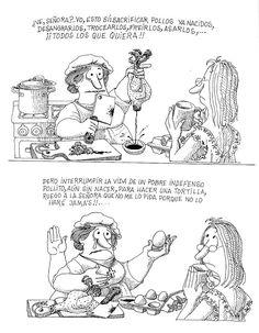 huevo Humor Grafico, Hilarious, Funny, Atheist, Comic Strips, Memes, Martini, Illustration, Books