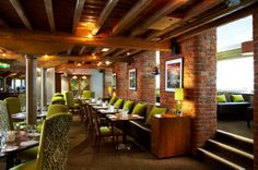 The Manchester Marriott Victoria & Albert Hotel showcases an unparalleled location in the city centre and sophisticated accommodation. Outdoor Tables, Outdoor Decor, The V&a, Victoria And Albert, Restaurant Bar, Manchester, Relax, Outdoor Furniture, Luxury