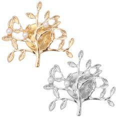 Брошь-дерево с жемчугом - Брошки и брелки / СЮРПРАЙЗ