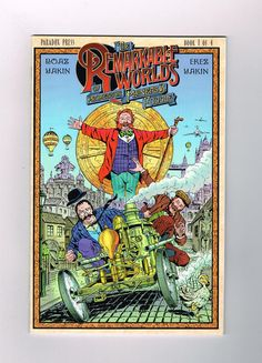 REMARKABLE WORLDS OF PHINEAS B FUDDLE 4-part Modern Age series from Paradox! NM http://r.ebay.com/z0I0eL