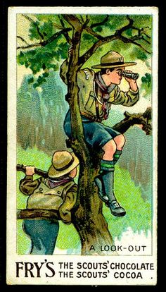 Trade Card - Boy Scout - Lookout | Flickr - Photo Sharing!