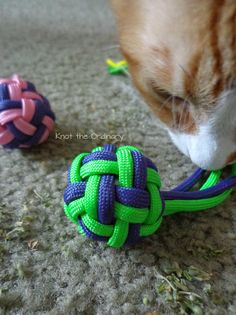 Paracord Catnip Flyers