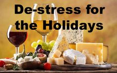 De-stress for the Holidays with These Gift Tips White Cheese, Crystal Wine Glasses, Bread Mix, Soup Mixes, Roasted Peppers, Meat And Cheese, Wine Gifts, Wine Tasting