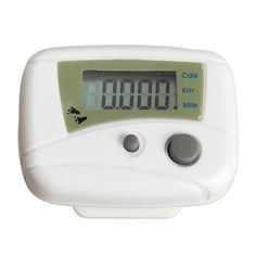 EA14 뜨거운 방수 디지털 백라이트 시계 스톱워치 LCD 실행 단계 보수계 도보 거리 칼로리 카운터 Passometer 화이트